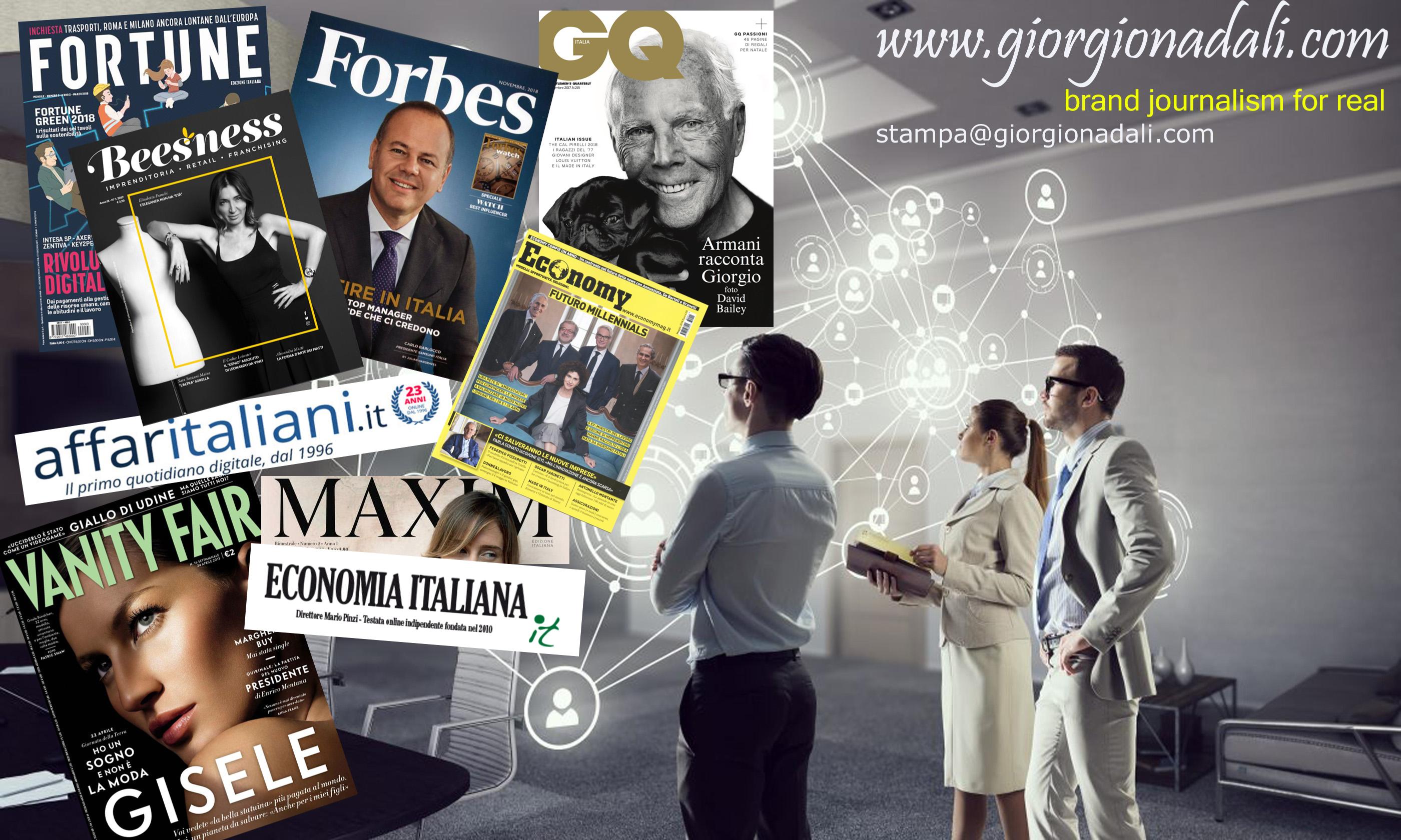 Brand Journalism Giorgio Nadali